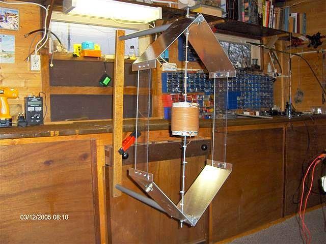 Isotron antenne Voor de 80m band