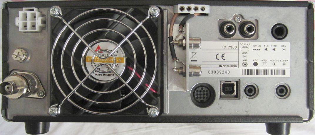ICOM IC-7300 Hints