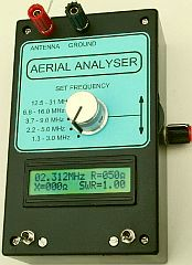 VK5JST antenna analyzer