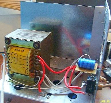 FRINEAR-150 RF amplifier with 1 × EL519(PL519)