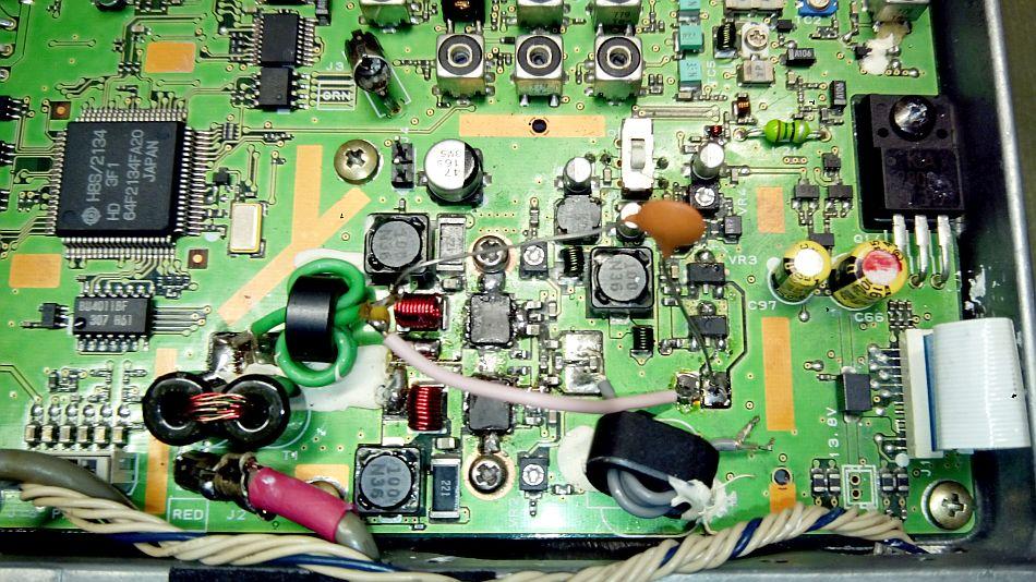 FT857 FET's modification